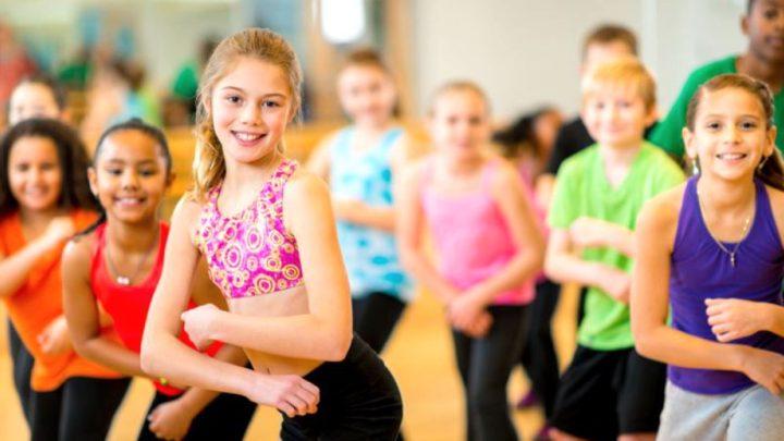 Fitness pentru copii